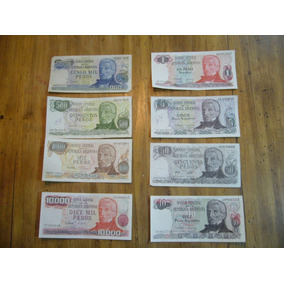 Billetes De Argentina