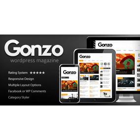 Gonzo V Clean Responsive Wp Magazine