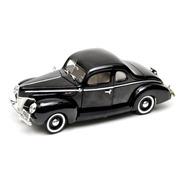 Ford 1940 Coupe 1:18 Motormax Carros Miniaturas Réplicas
