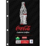 Bloco Fichario 96 Folhas Coca-cola 50175 Jandaia