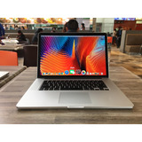 Macbook Pro Core I7 Retina 15 Pulgadas 8gb Ram 2012 Apple