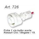 Ficha 1 Vía Bulbo De Aceite - Renault 19 / Clio / Megane
