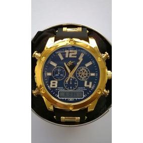 Relógio Grande Masculino Barato Marca Famosa- Super Promoção
