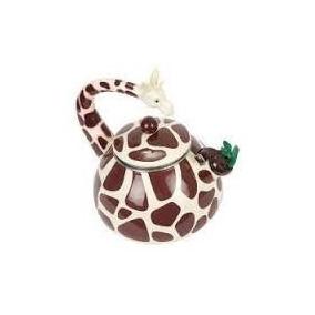 Chaleira Divertida Esmaltada - Girafa Melhor Preço + Brinde