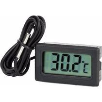 8 Pzas Termometro Digital Cable Sensor Temperatura Pantalla