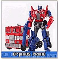 Boneco Transformers Optimus Prime 18cm Modelo Antigo C/ Caix