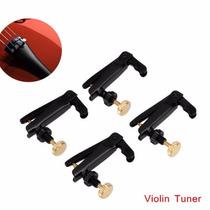 Micro Afinador De Violino 4/4. Conjunto Com 4 Peças