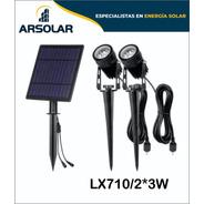 Apliques Led Solares 3w Cada Estaca