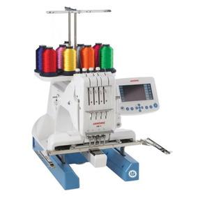 Máquina De Bordar Janome Mb4 Cuatro Agujas Multicolor