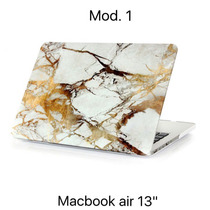 Funda Protector Macbook Air Pvc Granito Marmol 13