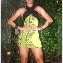 Vestido Tmsy Tubinho C/alça Transp Miss & Misses Ref 14922