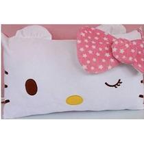 Hello Kitty Cara Suave Almohada Rosa