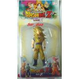 Figura Goku Ssj3 13 Cm Goma Dura. Dragon Ball
