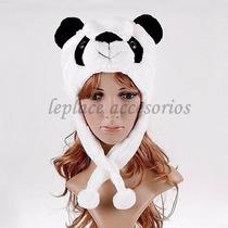 Gorro De Peluche Felpa Animal Animales Oso Tigre Bebe Panda