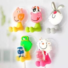 Porta Escova De Dentes Infantil Com Formato De Bichos