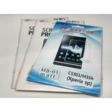 Película Plástica Sony Xperia Sp C5303 Fosca