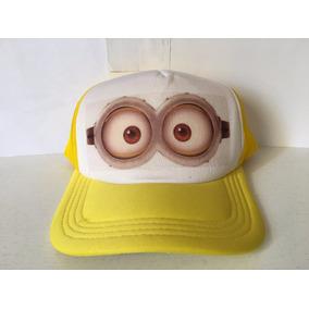 Gorra Minion Bob Gamer Friki Moda Novedosa Unisex