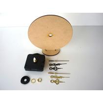 Base Con Maquina De Reloj Cd Souvenirs Artesania Fabricante