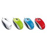 Mouse Genius Usb Dx-110 Colores