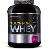 100% Pure Whey Protein (2000g) - Probiótica - Morango