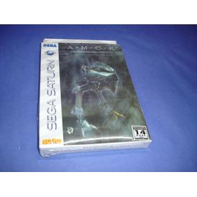 Sega Saturn : Cd Amok Original Lacrado , Tec Toy