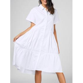 d326a91ac1 Vestido Con Cobertura En Pierna - Vestidos de Mujer Blanco en ...