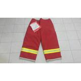 Pantalon De Bombero Para Combate De Incendio