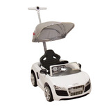 Montable Push Car Audi Blanco Prinsel