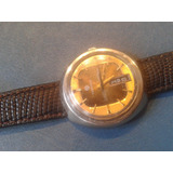 Vintage Reloj Hombre Tressa Automatico Laser Beam Oro Dorado