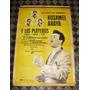 Antiguo Poster Rosamel Araya Y Los Playeros Disc Jockey