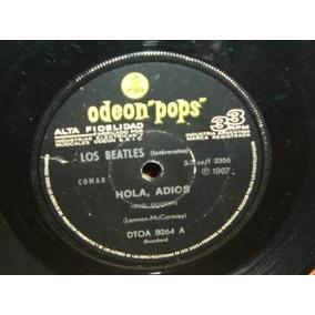 The Beatles Hola Adios / Yo Soy La Morsa Simple Argentino