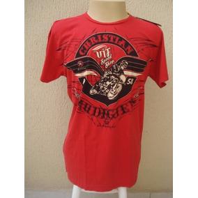 Camiseta Christian Audigier Tam Gg Original E Frete Grátis