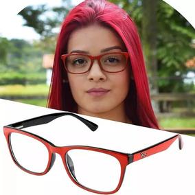 Armação Óculos De Grau Rb5115 + Lentes Para Longe ( Miopia ) 8223410200