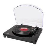Toca-discos De Vinil Retro Converte O Audio P/ Pc Via Usb