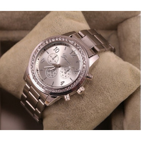 Reloj Quarzo Mujer Geneva Acero Inoxidable