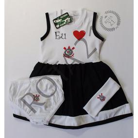 Vestido Infantil Corinthians