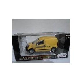 Fiat Qubo Amarilla Jetcar Norev 1/43 Autos De Coleccion