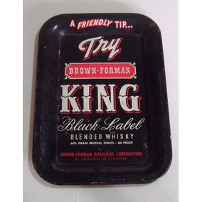 Charola De Propinas Whisky King Luis Ville Kentucky Eu