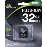 Fujifilm Elite 32gb Sdhc Class 10 Uhs-1 Flash Memory Card 60