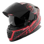 Casco Cerrado Moto Speed& Strength Ss1600 Sure Shot Rojo