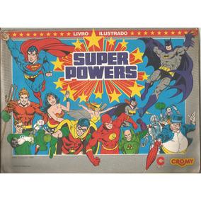 Figurinhas Do Álbum Super Powers Cromy Complete Seu Álbum