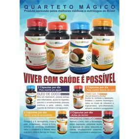 Kit Quarteto Magico Nutriblue- Já Com Frete Para Todo Brasil