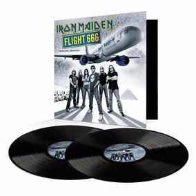 Iron Maiden Lp Flight 666 Vinil Lacrado 2017