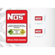 3 Adesivos Nos Para Kit Nitro - Nitrous Oxide System