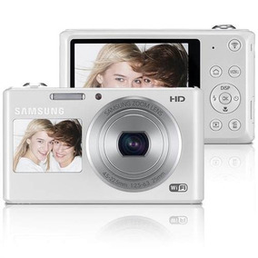 Camera Digital Samsung Dv150f Wifi Branca Frete Gratis