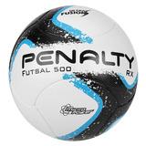 Bola Penalty Rx 500 R1 Fusion Viii Futsal Branca E Azul 6261f25d83348