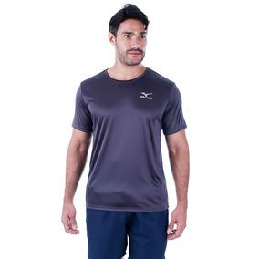 Camiseta Mizuno New Com Proteção Uv - Cinza