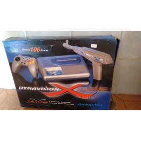 Video-game Dynavision X-treme Na Caixa Com 106 Jogos
