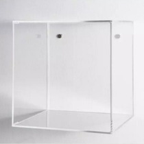 Nicho Acrílico Decorativo Transparente Colorido 40x40x15cm