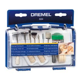 Dremel Accesorio Kit 684 Limpiar Y Pulir 20 Piezas